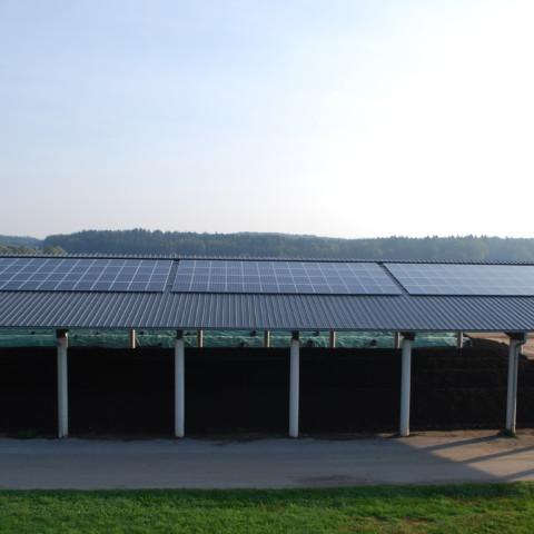 Abwasserverband Söding, 2016, Aufdachanlage mit 10 kwp