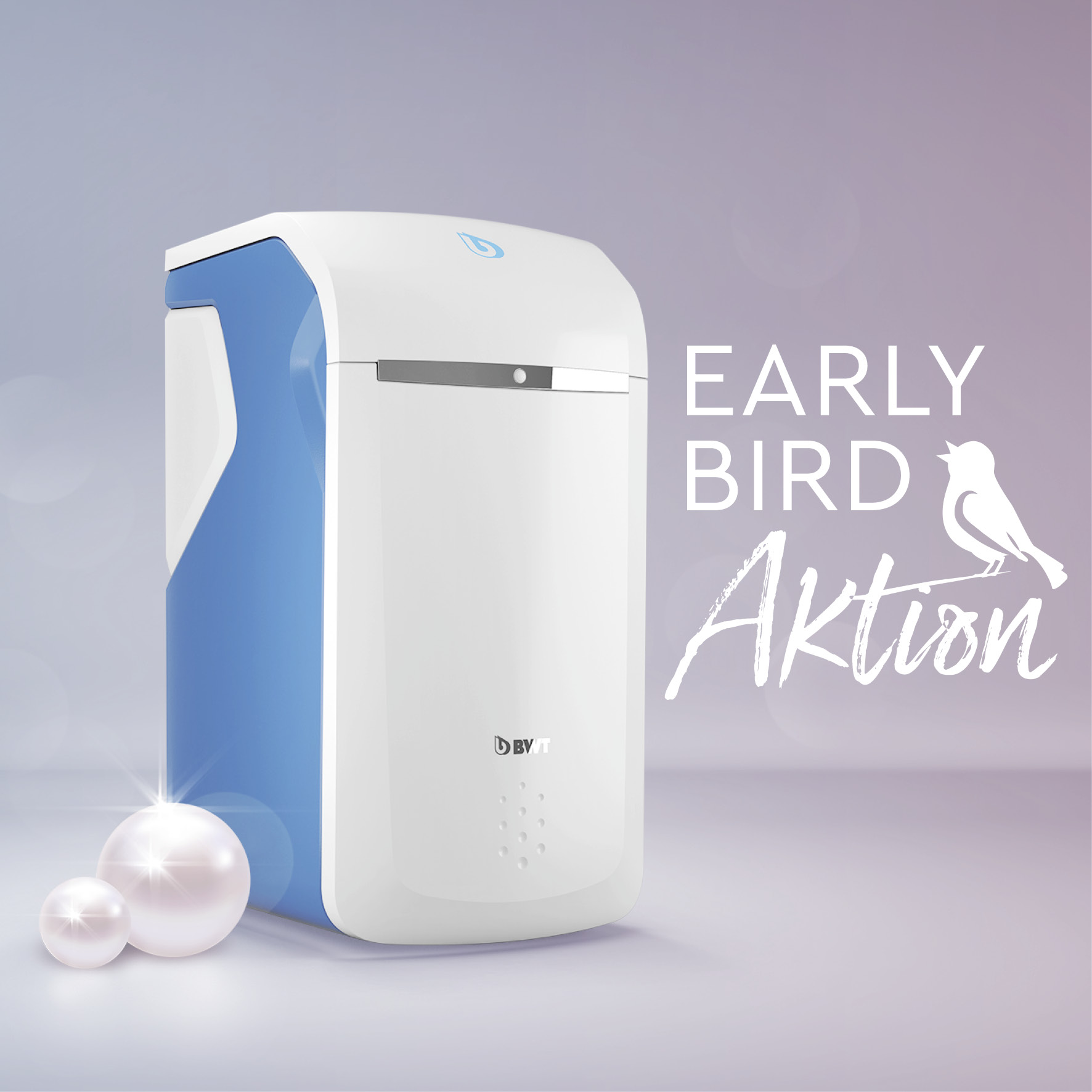 BWT Perla Wasserenthärung Early Bird Aktion