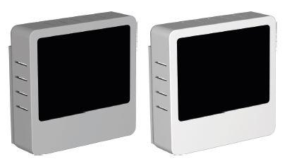 PV Display Grau oder Weiß